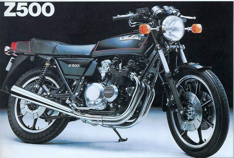 kawasaki z 500 brochure