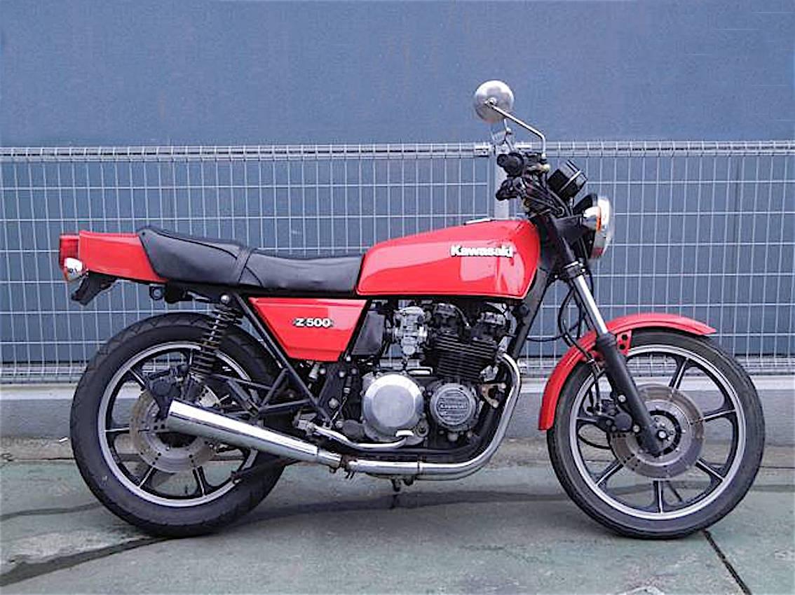 [SONDAGE] Premier gros cube (+125cc) - Page 2 Kawasaki_z500_1979