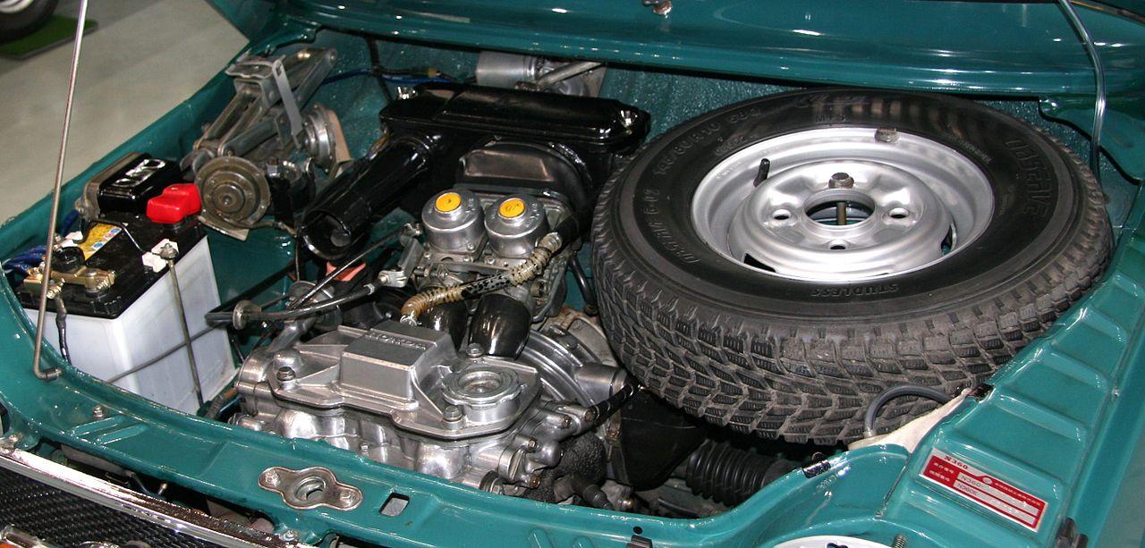 1969_Honda_N360_engine_