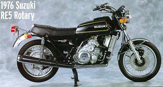SUZUKI RE 5 Rotante – (1974) – Giappone