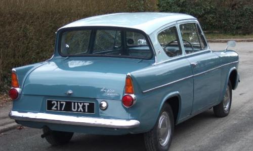 FORD ANGLIA (Mod. 105E) – (1959/1967) – Gran Bretagna