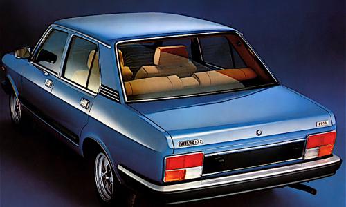 FIAT 132 1600-1800 – (1972/1974) – Italia