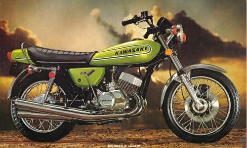 KAWASAKI 500 MACH III – (1969/1977) – Giappone