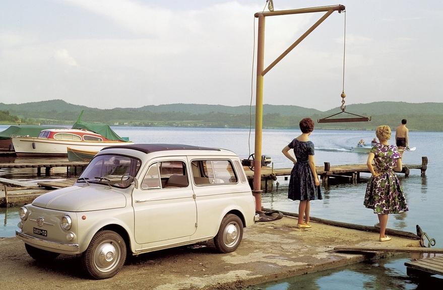 Fiat 500 giardiniera autobianchi auto d 39 epoca con for Immagini giardiniere