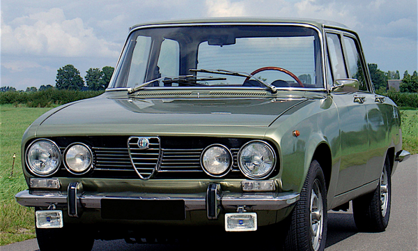 ALFA ROMEO 1750 – (1968/1972) – Italia