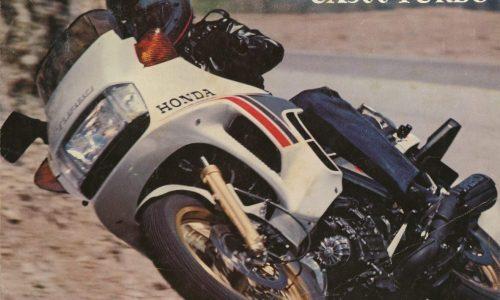 HONDA CX 500 TURBO – (1982) – Giappone