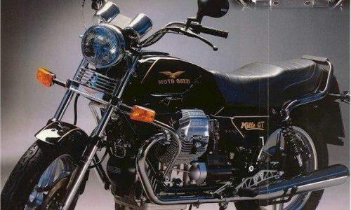 MOTO GUZZI MILLE GT – (1986/1991) – Italia