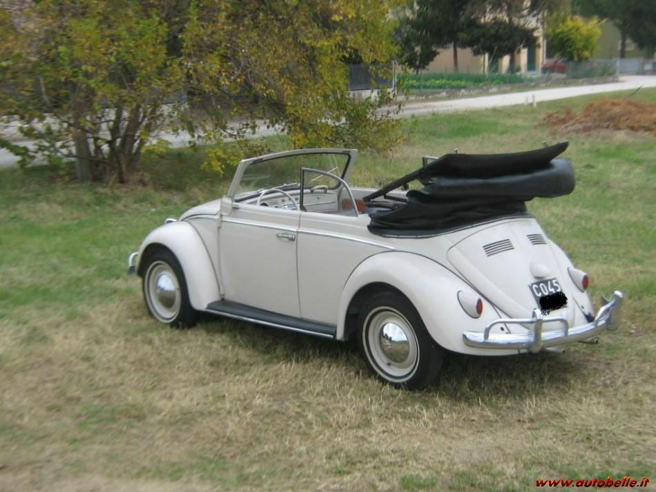 Volkswagen maggiolino cabriolet auto epoca con curiosit for Furgone anni 70 volkswagen