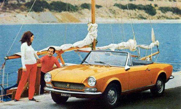 FIAT 124 SPORT SPIDER – (1966/1969) – Italia