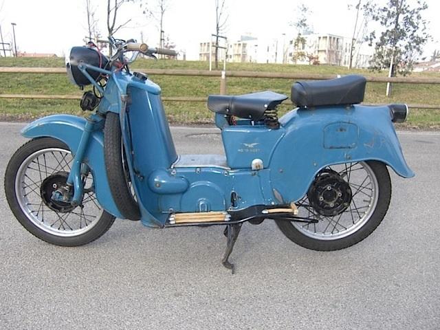 Moto Guzzi Galletto nella versione ANAS