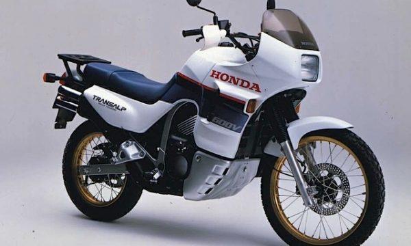 HONDA TRANSALP 600 V – (1987) – Giappone