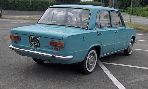 FIAT 124 Prima Serie – (1966/1970) – Italia