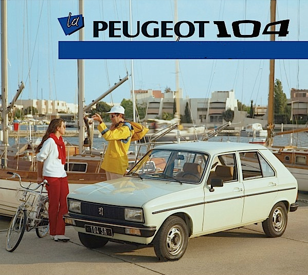 noleggio Peugeot 104