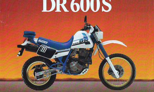 SUZUKI DR 600 – (1987) – Giappone