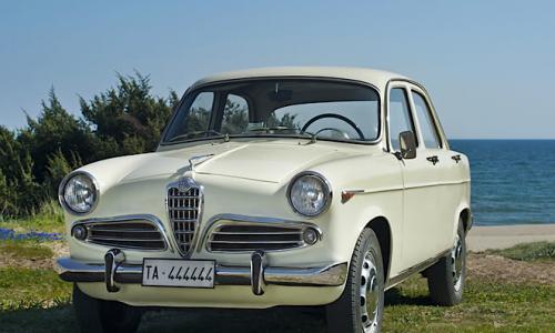 ALFA ROMEO GIULIETTA (prima serie) – ( 1955/1965 ) – Italia