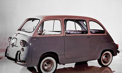 FIAT 600 MULTIPLA – (1956/1967) – Italia