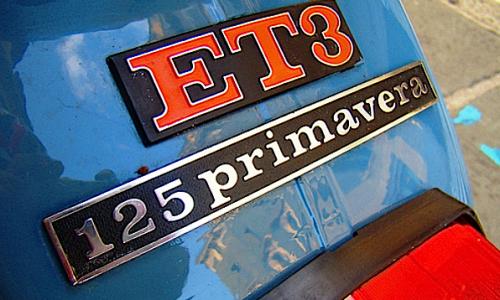 VESPA PRIMAVERA 125 ( ET3 ) – (1968/1982) – Italia