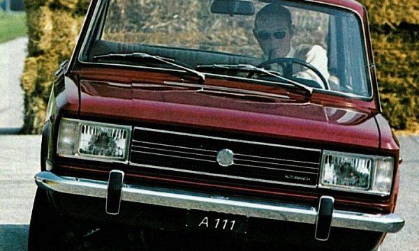 AUTOBIANCHI A111 – (1968/1972) – Italia