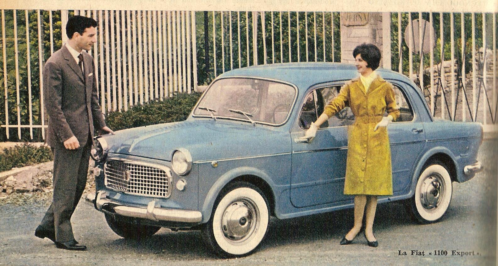 Fiat 1100-103 Export del 1960-61