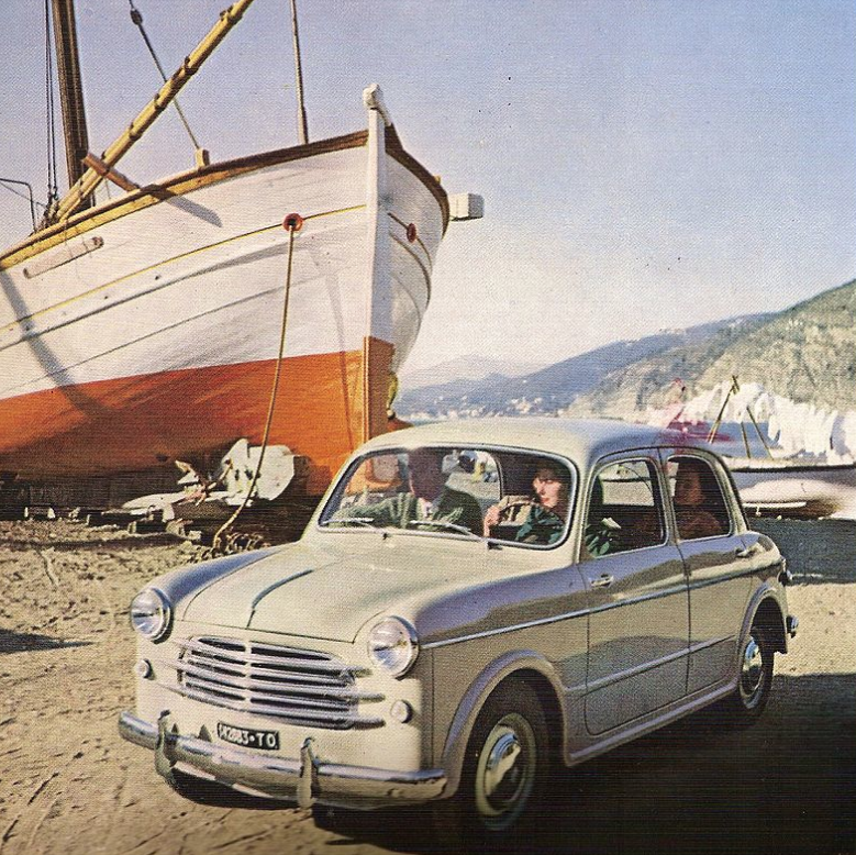 Fiat 1100:103 del 1953 nell'allestimento normale