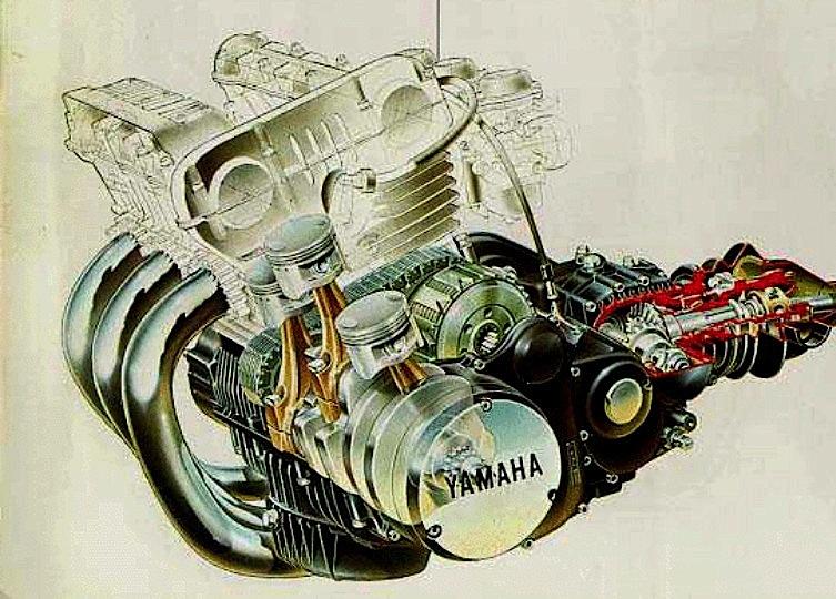 yamaha-xs-750-motore-engine