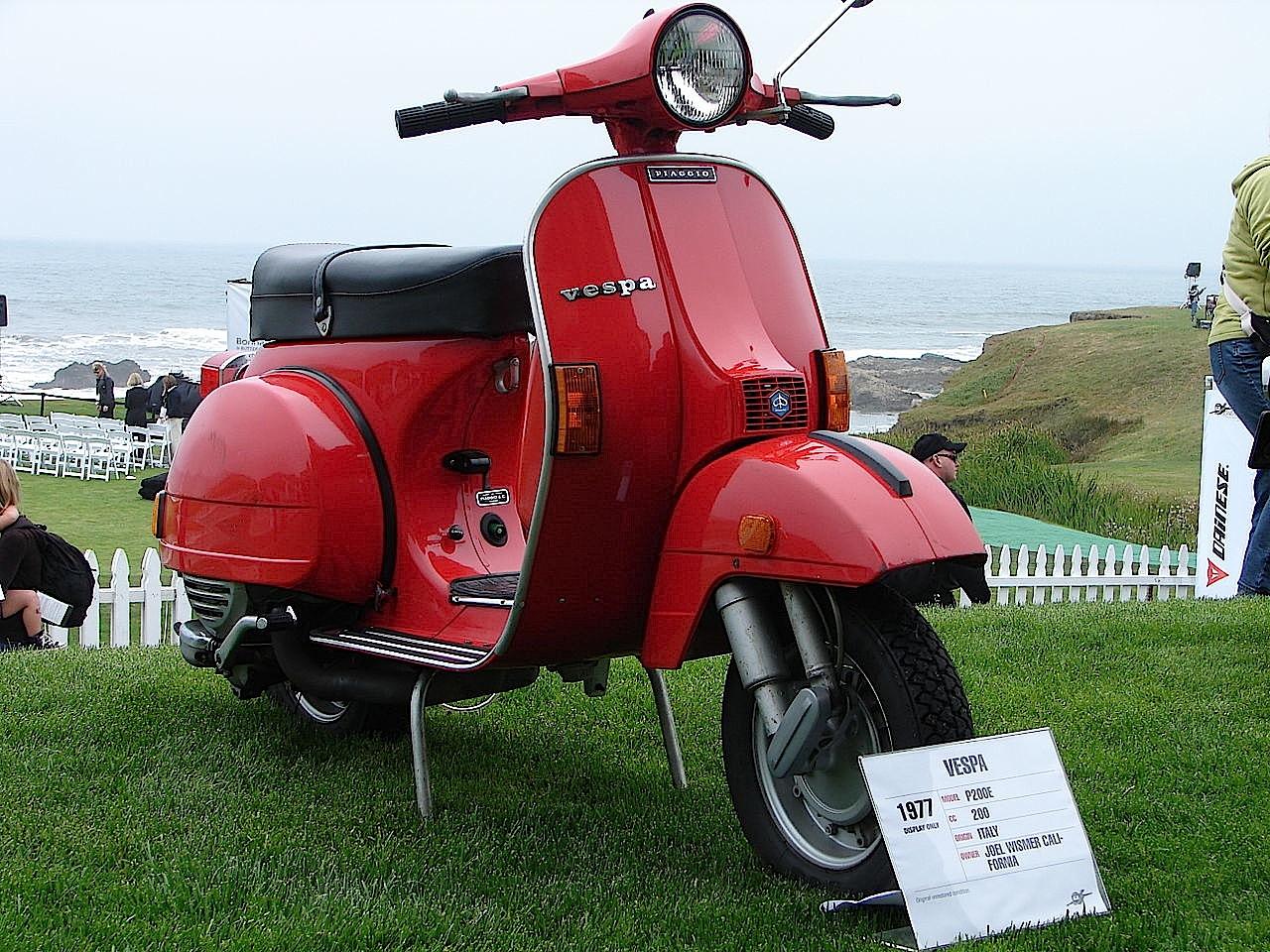 piaggio vespa px scooter moto d 39 epoca storia video e foto. Black Bedroom Furniture Sets. Home Design Ideas