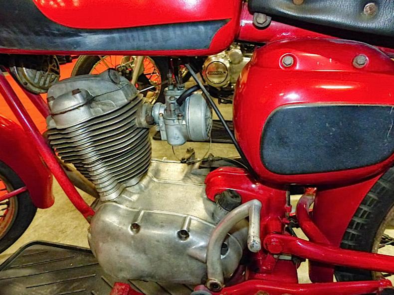 1963 Moto Morini Corsaro 125