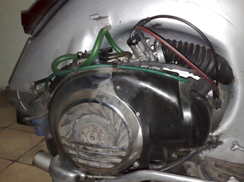 Piaggio_vespa_Motore Elaborato_PX polini_177,