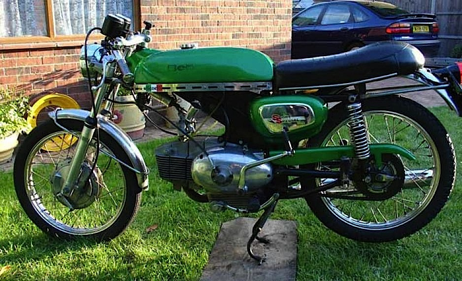 BENELLI SPORT SPECIAL MOTOBI Moto D'epoca Anni 70