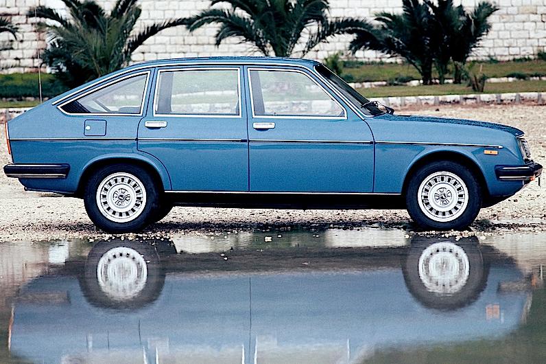 Lancia Beta_2 Serie_1975_1979_profilo