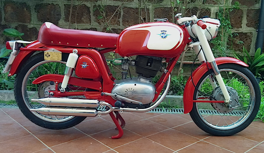 MV Agusta 150 RS prima serie (1969 - 1963)