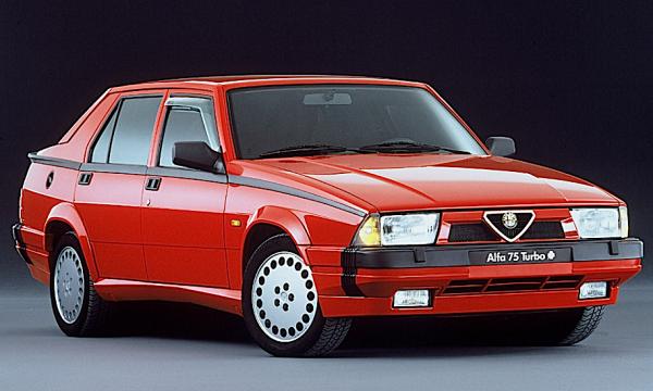 ALFA ROMEO 75 Turbo – (1986) – Italia