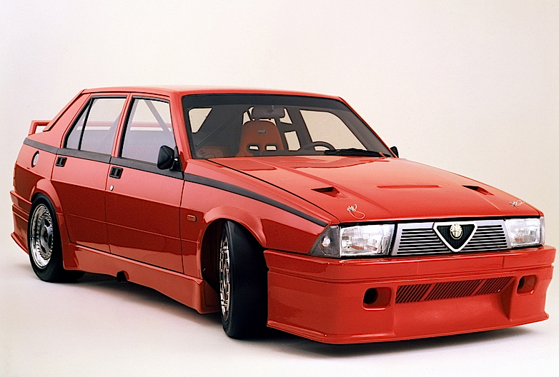 Alfa Romeo 75 1.8 Turbo TCC Prototipo 162B