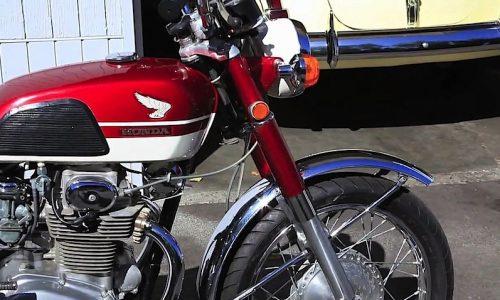 HONDA CB 350 – (1969/1977) – Giappone