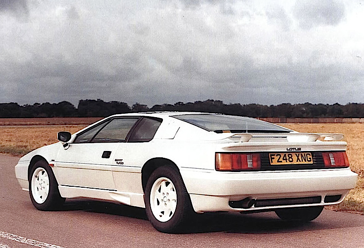 Lotus Esprit Turbo 40th Anniversary 1988