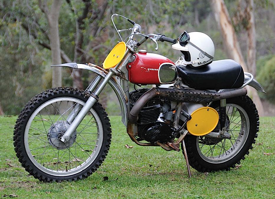 Vintage Husqvarna Motorcycle Parts For Sale