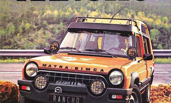 MATRA-SIMCA RANCHO / RANCH – (1977/1984) – Francia