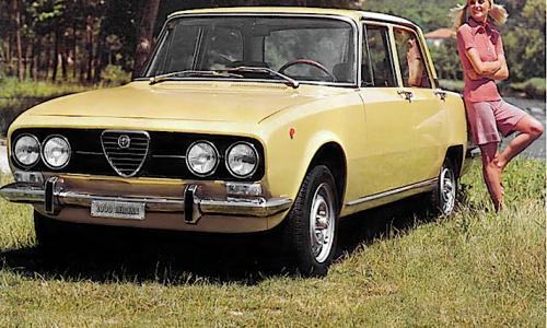 ALFA ROMEO 2000 – (1971/1977) – Italia
