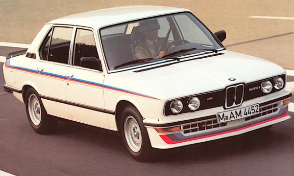 BMW M535i – su base E12-E28 – (1980/1987) – Germania