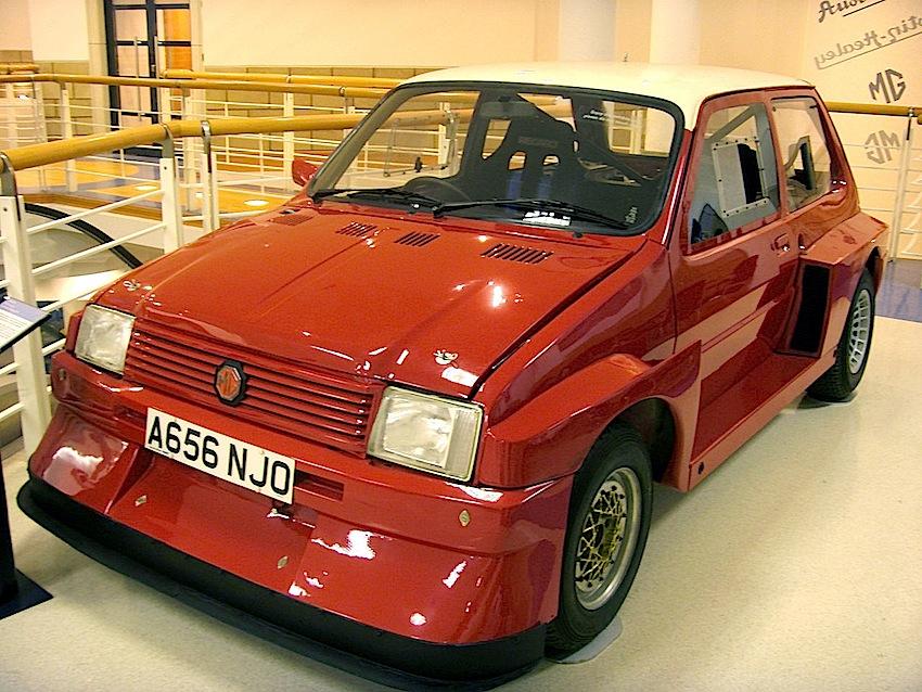 prototipo di MG Metro 6R4 1983,