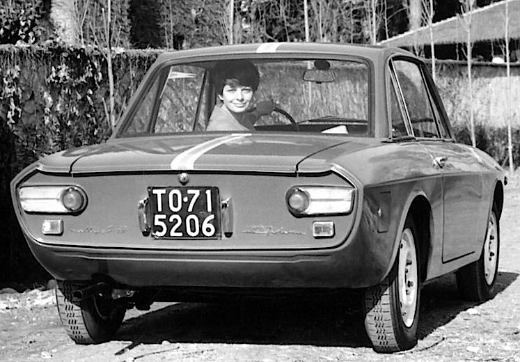 Lancia Fulvia Coupé Rallye 1.3 HF retro