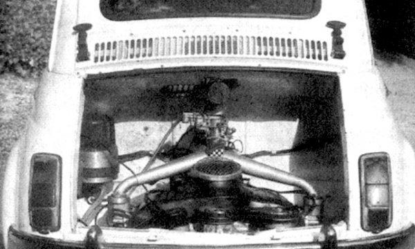 FIAT 500 Giannini ELETTRICA – (1967) – Italia