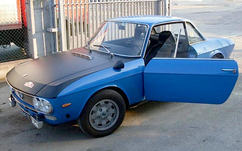 lancia fulvia coupé hf azzurra