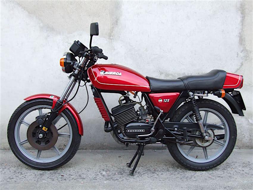 LAVERDA 125 LZ - moto depoca curiosando anni 80