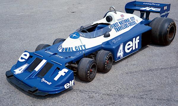 TYRREL P34 Sei ruote – (1976/1977) – Gran Bretagna