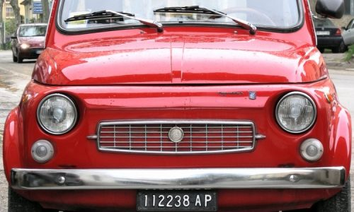 FIAT NUOVA 500 FRANCIS LOMBARDI MY CAR – (1968/1971) – Italia