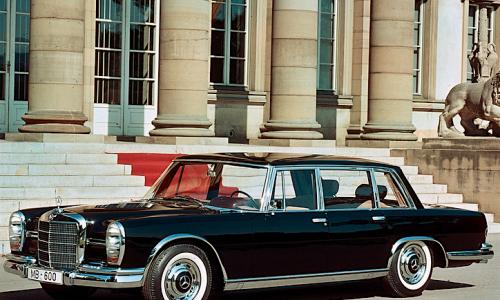 MERCEDES 600 (W100) – (1963/1980) – Germania