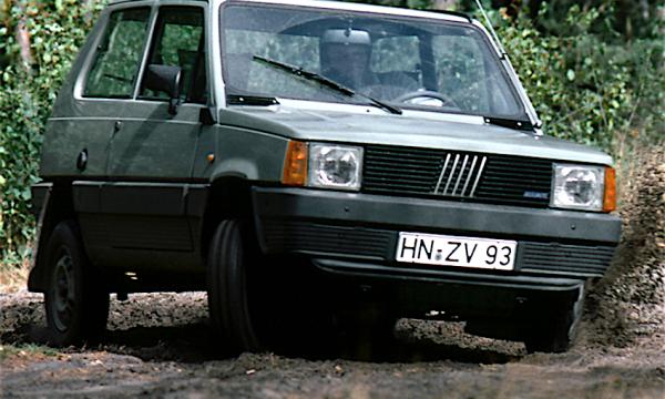 FIAT PANDA 4X4 (Prima serie) – (1983/1986) – Italia