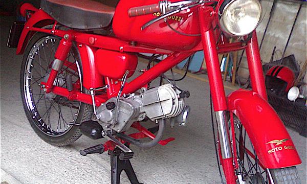 MOTO GUZZI CARDELLINO – (1954/1965) – Italia