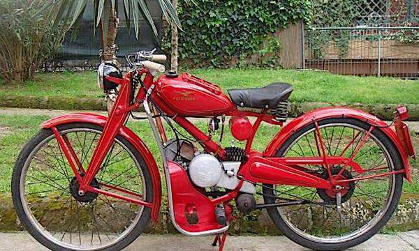 MOTO GUZZI MOTOLEGGERA 65 – GUZZINO – (1946/1954) – Italia
